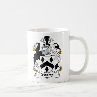 Strang Family Crest Coffee Mug