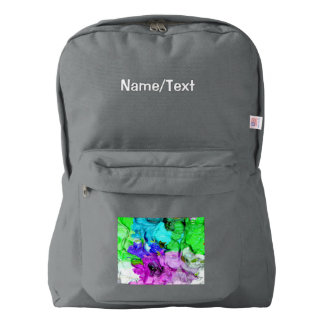 strange abstract 4 backpack