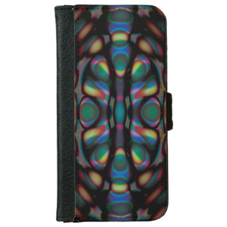 Strange Abstract iPhone 6 Wallet Case
