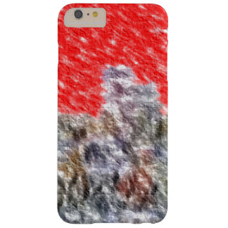 Strange abstract pattern barely there iPhone 6 plus case