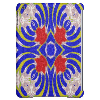Strange abstract pattern iPad air cover