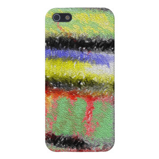 Strange abstract pattern case for iPhone 5/5S