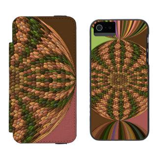Strange abstract pattern incipio watson™ iPhone 5 wallet case