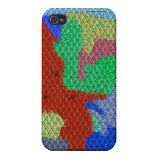 Strange abstract pern case for iPhone 4