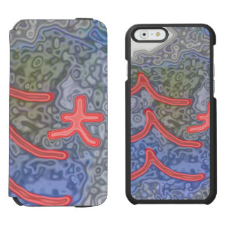Strange and unusual pattern incipio watson™ iPhone 6 wallet case