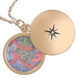 Strange and unusual pattern pendant
