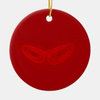 Strange Attractor - Fun Chaos Theory Physics Math Christmas Ornament
