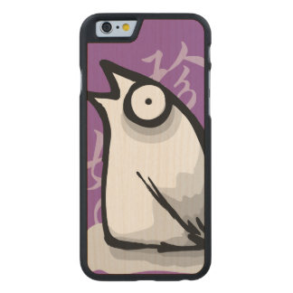 Strange Birdie Carved® Maple iPhone 6 Slim Case