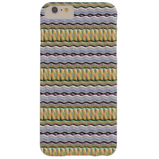 Strange colored pattern barely there iPhone 6 plus case