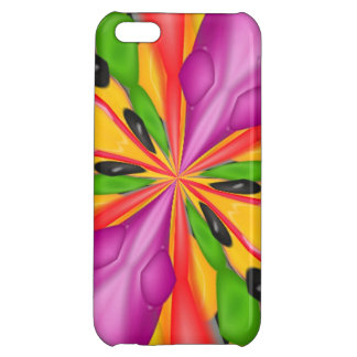 Strange colorful case for iPhone 5C