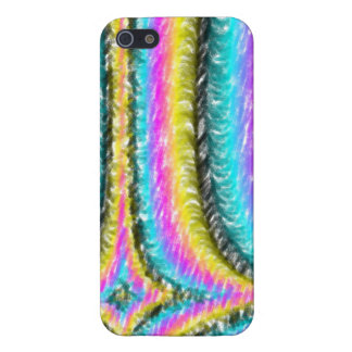 Strange colorful line pattern iPhone 5 cases