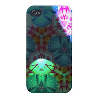 Strange colorful pattern case for iPhone 4