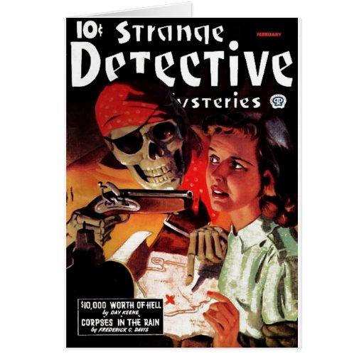 Strange Detective Mysteries Card