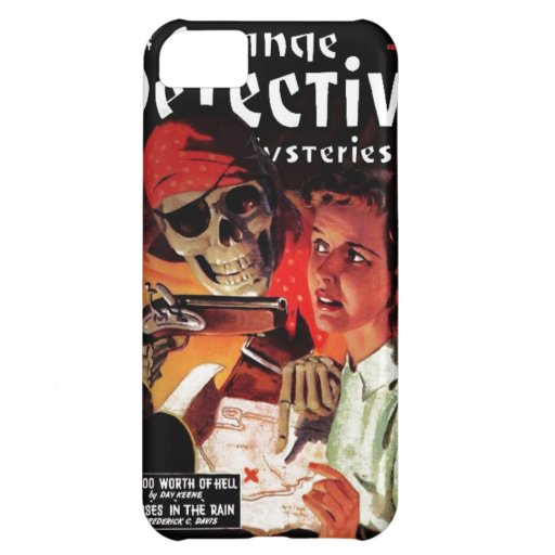 Strange Detective Mysteries Cover For iPhone 5C