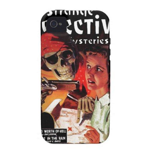 Strange Detective Mysteries Vibe iPhone 4 Case
