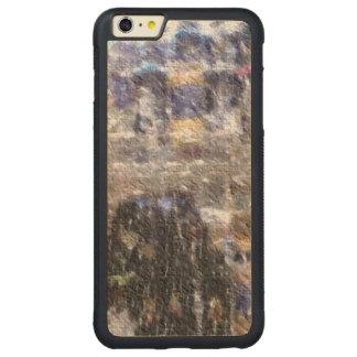 strange edited photo carved® maple iPhone 6 plus bumper