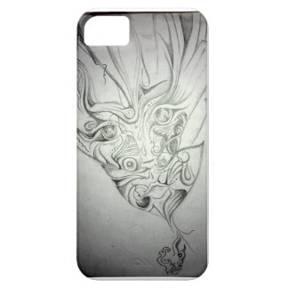 Strange Face Barely There iPhone 5 Case