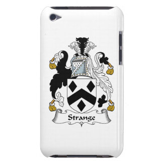 Strange Family Crest Barely There iPod Case