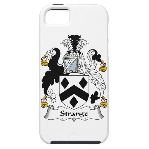 Strange Family Crest iPhone 5/5S Case