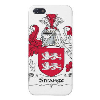 Strange Family Crest iPhone 5 Cover