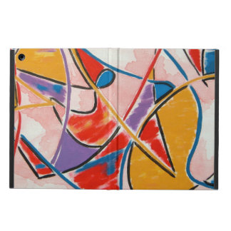 Strange Fish-Abstract Art Hand Painted iPad Air Cases