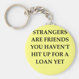 strange friends key chains