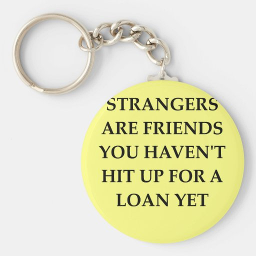 strange friends key chains