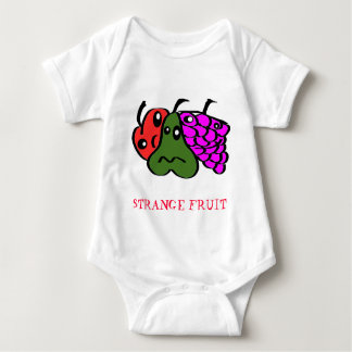Strange fruit baby bodysuit