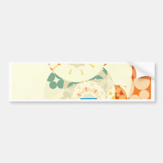 Strange Geometries (i) Bumper Sticker
