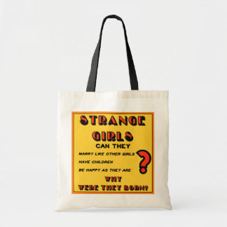 """""""Strange Girls"""" Tote Budget Tote Bag"""