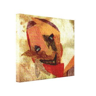 strange glance canvas prints