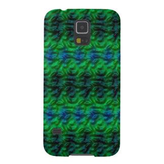 Strange green abstract pattern galaxy s5 case
