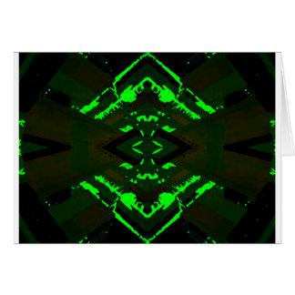 Strange Green Alien Design Cards
