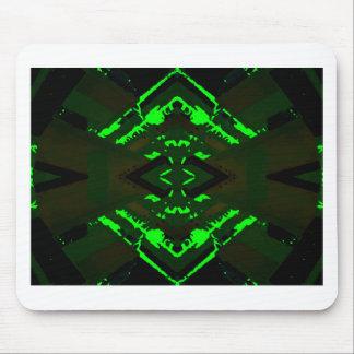 Strange Green Alien Design Mouse Pad