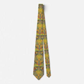 Strange kaleidoscope nice pattern tie