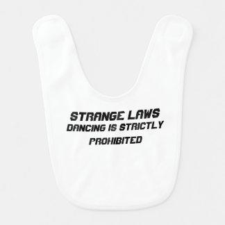 Strange laws baby bibs