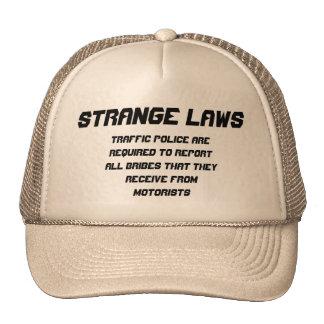 Strange laws Police report bribe Cap