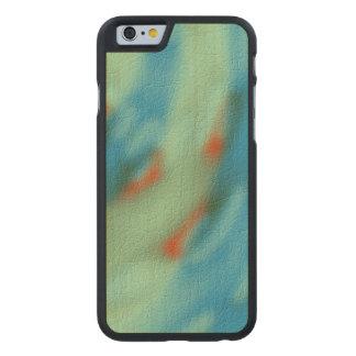Strange modern pattern carved® maple iPhone 6 slim case