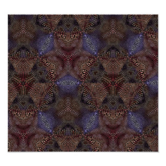 Strange modern pattern photographic print