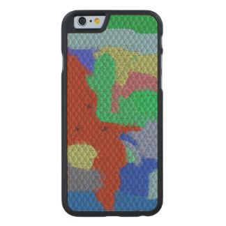 Strange mosaic pattern carved® maple iPhone 6 case