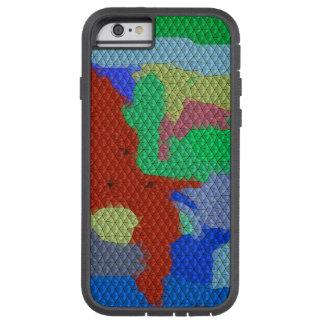 Strange mosaic pattern tough xtreme iPhone 6 case