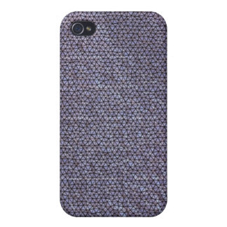 Strange mosaic pern cover for iPhone 4