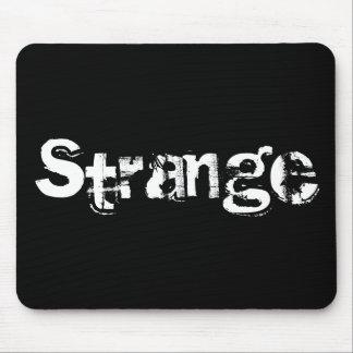 Strange mousepad