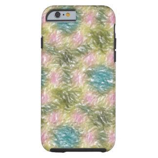 strange multicolored pattern tough iPhone 6 case