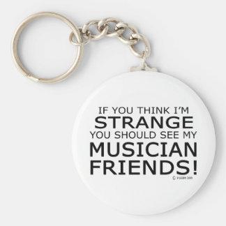 Strange Musician Friends Key Ring