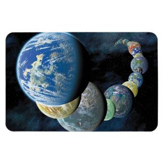 Strange New Worlds Rectangular Photo Magnet