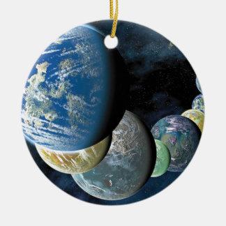Strange New Worlds Round Ceramic Decoration
