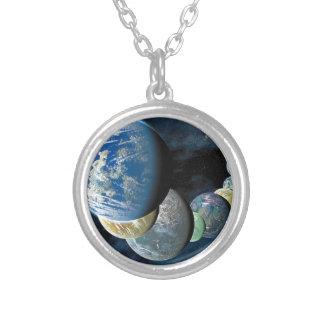 Strange New Worlds Round Pendant Necklace