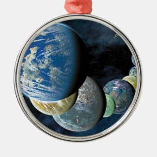 Strange New Worlds Silver-Colored Round Decoration