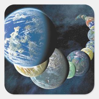 Strange New Worlds Square Sticker